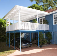 Wooden Deck Brisbane - Wavell Heights